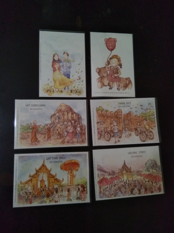 Postcrossing postcard Chiang Mai