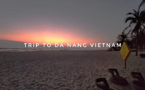 Pantai Da Nang Vietnam
